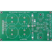 Adj. LM317/LM337 Supply - PCB
